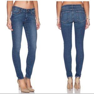 Paige Verdugo Crop Skinny Jeans in Nolan Wash